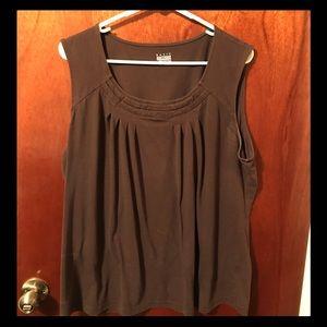 No sleeve blouse